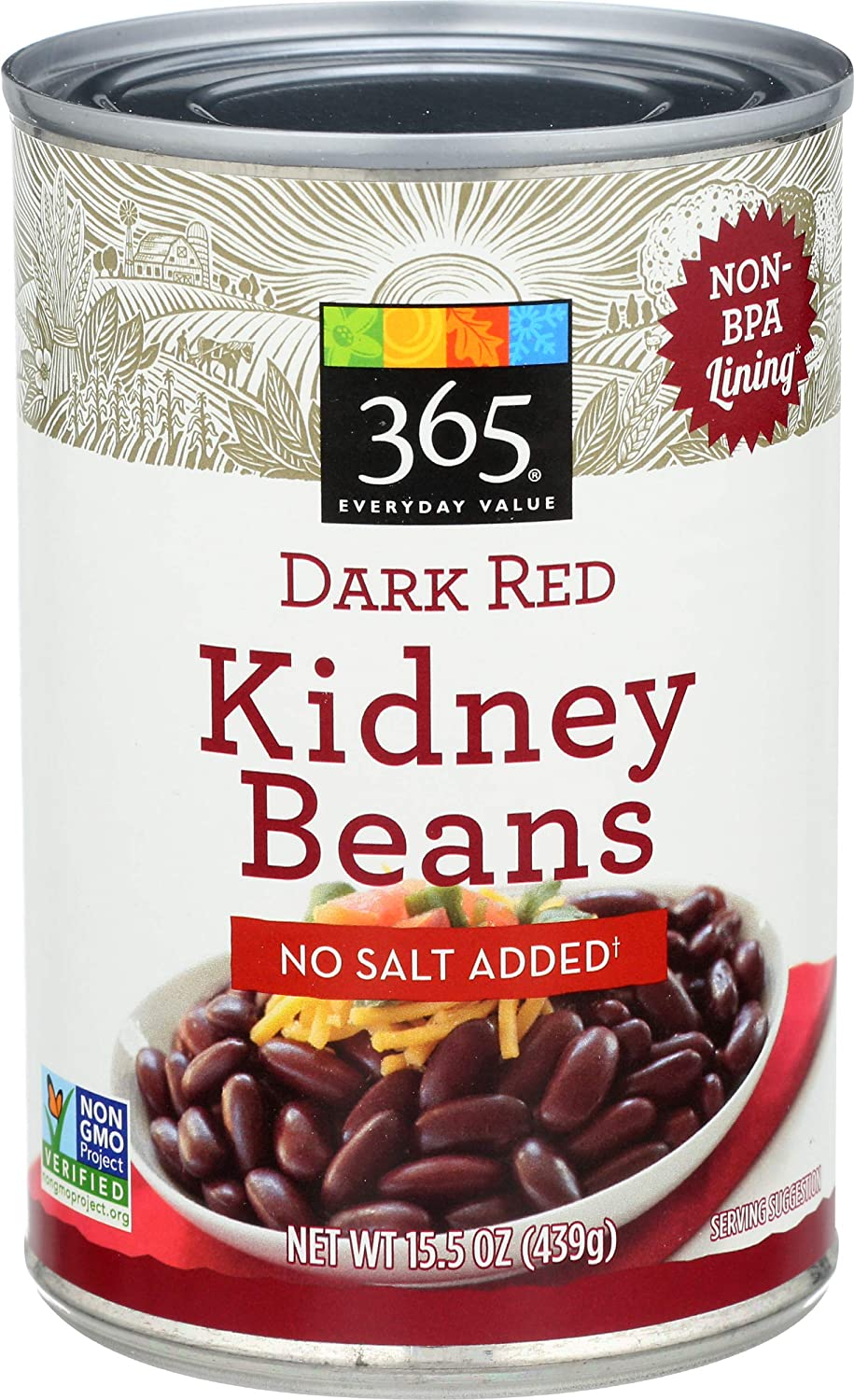 365 by Omaha Mall Whole Foods Market Beans Clearance SALE! Limited time! Kidney O Dark 15.5 No Red Salt