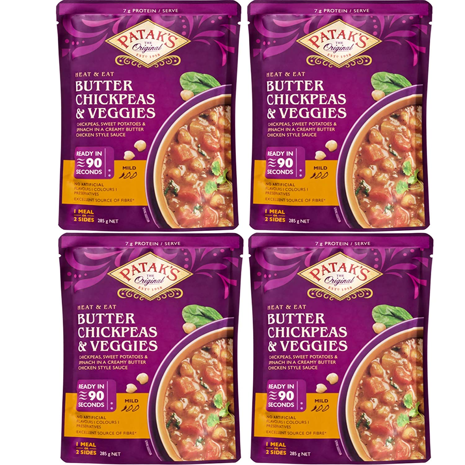 Patak's - Ready To Eat Vegetarian Our shop OFFers the best service Meals 4 Virginia Beach Mall Chickp Butter Pack