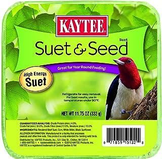 Kaytee Suet & Seed Cake, 11.75 Oz (Pack of 1)
