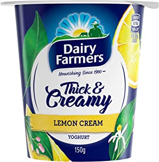 Dairy Farmers Yoghurt, Lemon Cream, 150g - Chilled