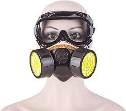 غطاء نصف وجه مع نظارة أمان مضادة للغبار لأكسسوارات حماية العمل في الهواء الطلق