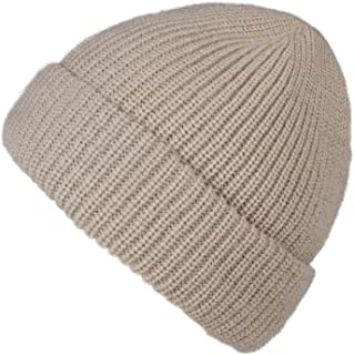 camptrace Cuffed Beanie Skull Knit Hat Soft Warm Winter Hat Knit Men Women Plain Cuff Ski Skull Cap