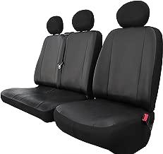 Schwarz-rote Sitzbezüge für NISSAN PRIMASTAR VORNE NUR FAHRERSITZ