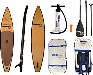 Dunnrite Products Natural Wood Stand up Paddle Board
