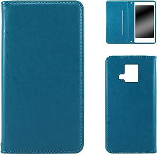 WHITENUTS ELUGA V P-06D ケース 手帳型 スタイリッシュ ブルー TC-D0002005/ML