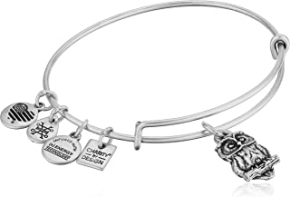 Alex and Ani Women's Charity by Design Owl II Bangle