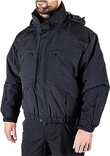 Tactical Men's 5-in-1 Jacket, Removable Fleece Inner Liner, Zip-Off Sleeves, Style 48017