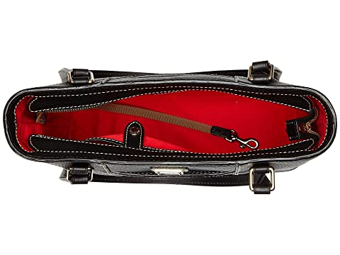 Negro Negro New Dooney amp; amp; Colors Shopper Pebble Leather Bourke Lexington Pequeño wq1Cwv
