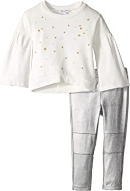 Embroidered French Terry Set (Toddler)
