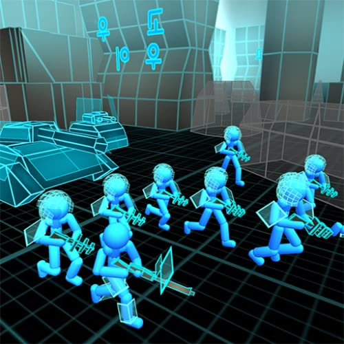Stickman Simulator: Neon Tank Warriors