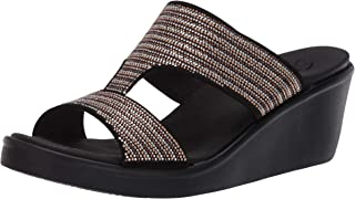 Skechers RUMBLE ON - BLING GAL womens Wedge Sandal