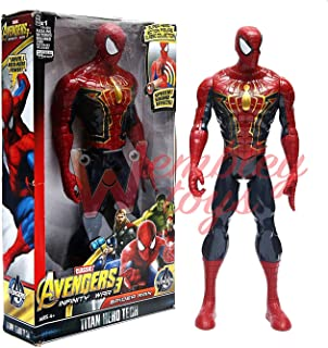 Action Figurines Spiderman Black Suit Marvel Spider-man Pvc Action Figures Collectible Toys Model 12 30cm Spider Man Kids Gift Toys & Hobbies