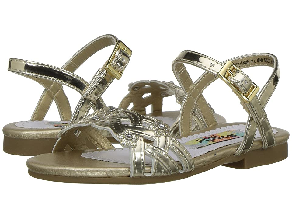 Rachel Kids Lil Julianne (Toddler) (Gold Metallic) Girl