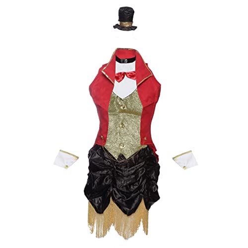 Emmas Wardrobe Ringmaster Circus Fancy Dress Costume Includes Dress a6716b95ccc1