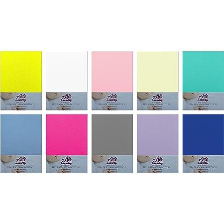 Lenzuolo con angoli elasticizzati per bambini, in jersey, 60 x 120-70 x 140 cm, 140 g/m²