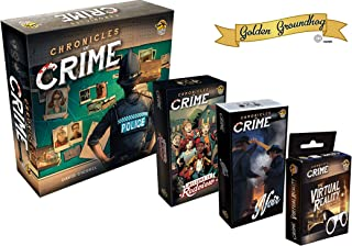 Juego de Mesa Chronicles of Crime Base + Welcome to Redview ...