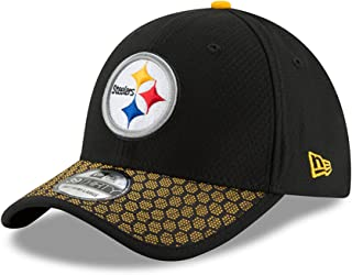 4e53ef783 New Era NFL PITTSBURGH STEELERS Authentic 2017 Sideline 39THIRTY Stretch  Fit Game Cap