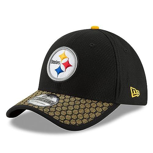 New Era Men s Pittsburgh Steelers 2017 Official NFL Sideline 3930 Cap 28411d77d