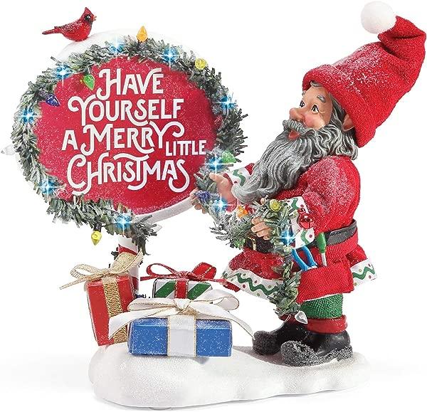 Department 56 Possible Dreams Santas Accessories All Ready Figurine 7 Multicolor