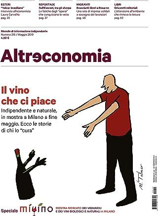 Altreconomia 215 - Maggio 2019: Il vino che ci piace