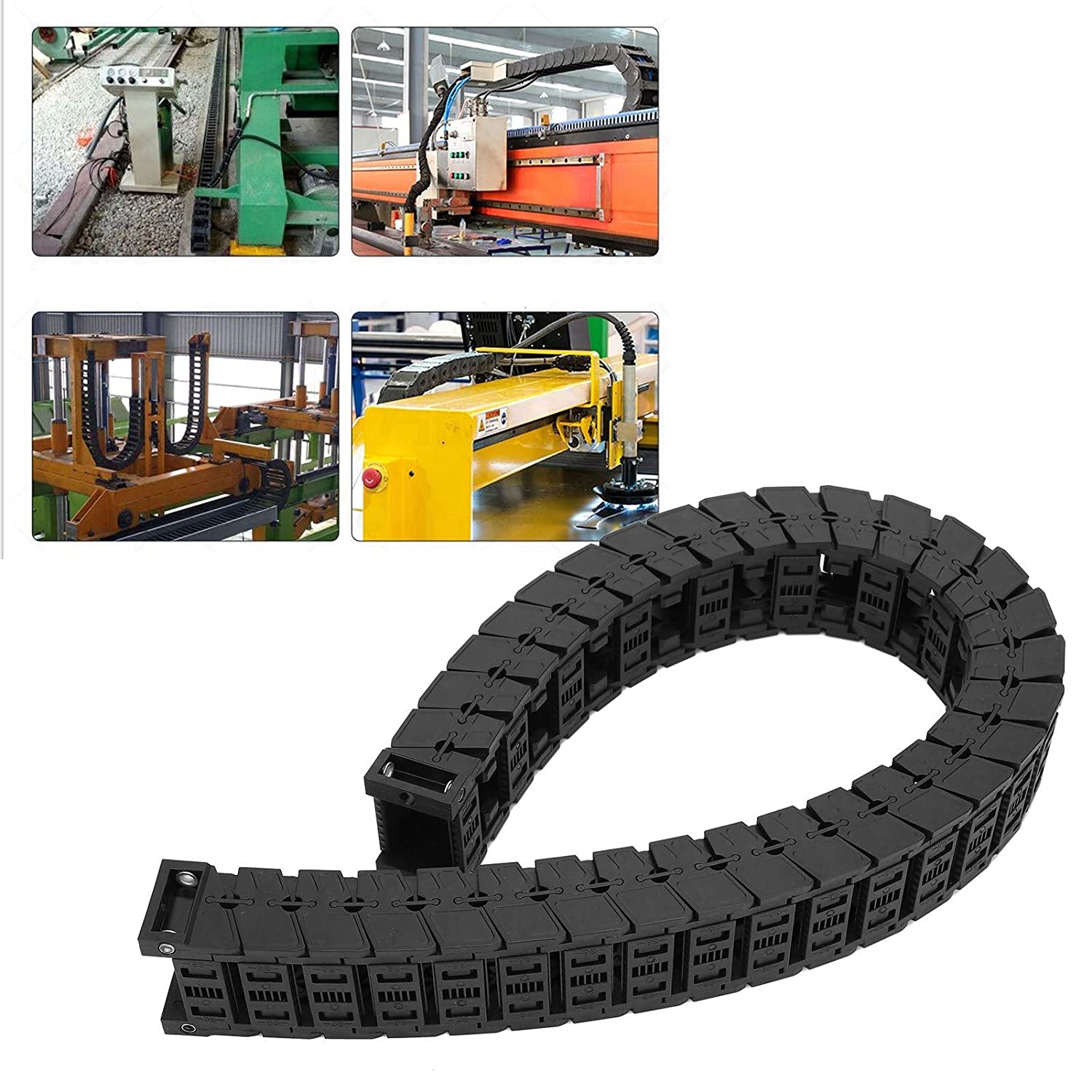 Cable Drag Chain, Wire Carrier, Premium Wear- Cable Protection f
