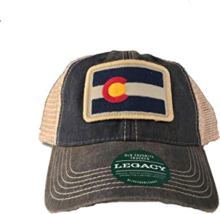 Legacy Athletic Rectangle Colorado Flag Patch Trucker Cap