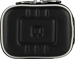 eBigValue Orange Camera Bag Carrying Case for Casio EXILIM Zoom EX S200 EX FH100 EX G1 EX H30 EX Z16 EX ZR10 EX ZR100 EX ZS5BK EX ZS5PK EX ZS5SR Digital Camera