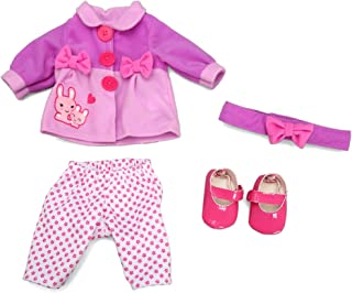 Baby Alive Doll Fashion Bunnies N Bow Set Fits 12