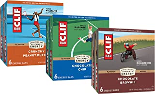CLIF BARS - Energy Bars – Care Package - Chocolate Chip and Crunchy Peanut Butter - Plant Based - Made with Organic Oats (...