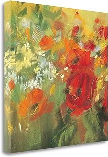 """""""Oriental Poppy Field II"""" By Carol Rowan, Fine Art Giclee Print on Gallery Wrap Canvas, Ready to Hang"""