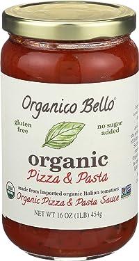 ORGANICO BELLO Organic Pizza Pasta Sauce, 16 OZ