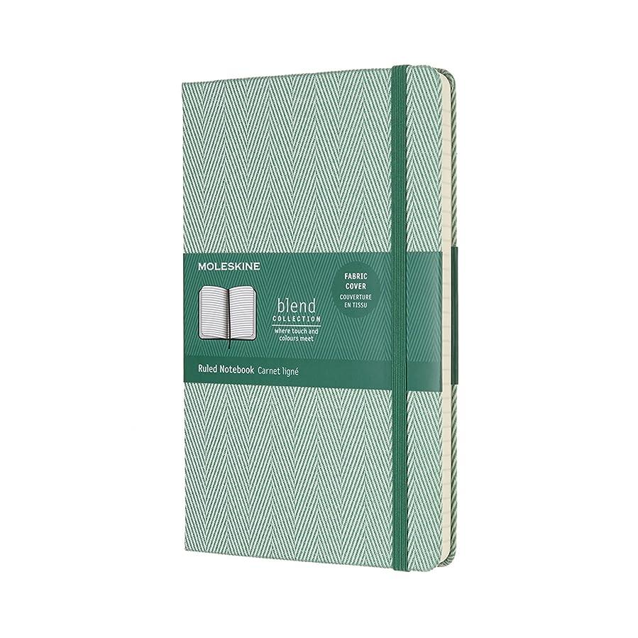モレスキン ノート 限定版 ブレンドコレクション ハード ラージ グリーン LCBD02QP060K