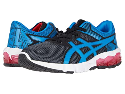 ASICS Kids GEL-Quantum 90 2 (Toddler/Little Kid) (Carrier Grey/Directoire Blue) Boy