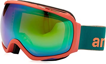 Anon Women's Tempest Snow Goggles Candy with Green Solex Lens