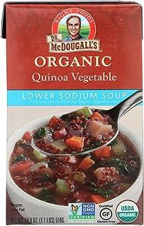 Dr. McDougall's Organic Lower Sodium Vegetable Soup - 18 OZ - 6 pk