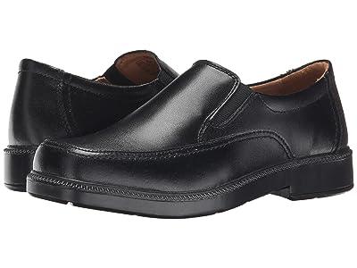 Florsheim Kids Bogan Jr. (Toddler/Little Kid/Big Kid) (Black) Boys Shoes