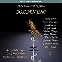 Sullivan: Iolanthe, or The Peer and the Peri [1958], Vol. 1