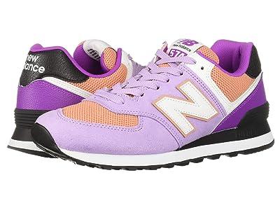New Balance Classics WL574 Summer Sport (Violet Glo/Faded Copper) Women