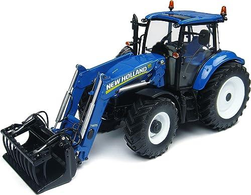 solo para ti Universal Hobbies New Holland T5.115 Tractor con con con Cargador 740TL  garantizado