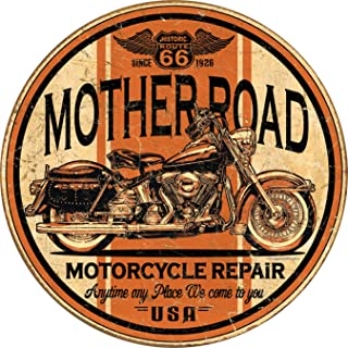 Desperate Enterprises Mother Road Repair Tin Sign, 11.75