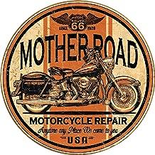 Desperate Enterprises Mother Road Repair Tin Sign, 11.75