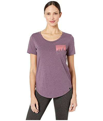tentree Juniper Pocket Tee (Vintage Violet) Women