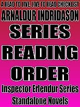 ARNALDUR INDRIDASON: SERIES READING ORDER: A READ TO LIVE, LIVE TO READ CHECKLIST [INSPECTOR ERLENDUR, NAPOLEAN OPERATION]