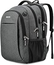 Laptop Backpacks Up to 15.6 inch,【Updated Version】with USB Charging Port,Headphone Jack- OSOCE 32L Water-Repellent Business College School Travel Back
