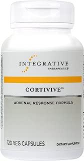 Integrative Therapeutics - Cortivive - Vegetarian Adrenal Response Formula - 120 Capsules