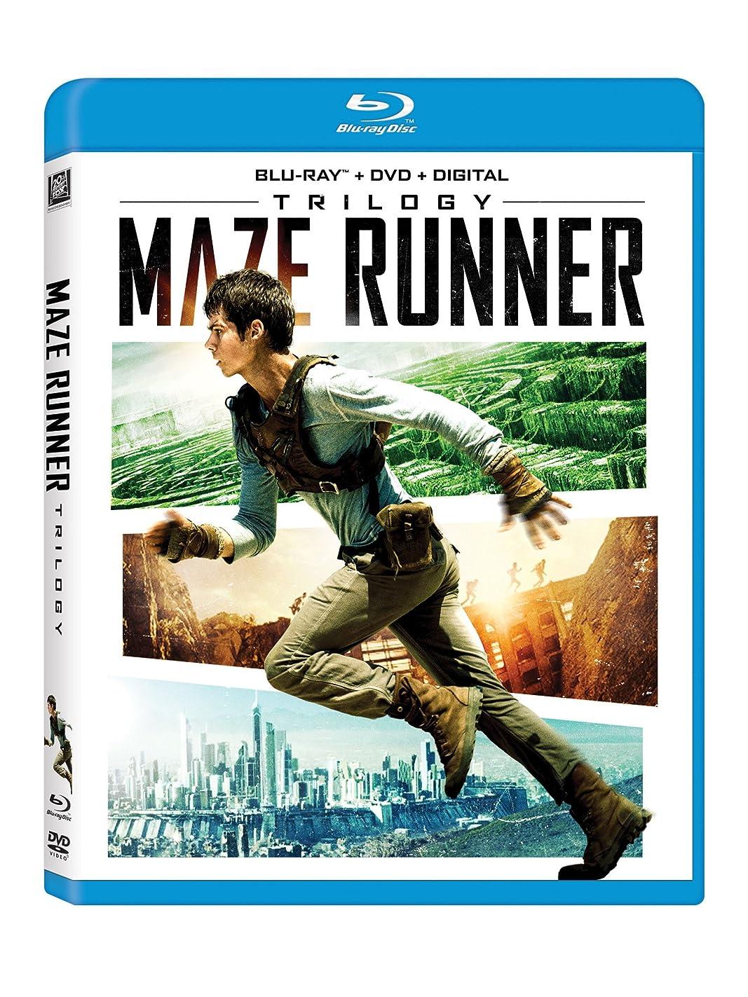切り下げ動忙しいMaze Runner Trilogy/ [Blu-ray]