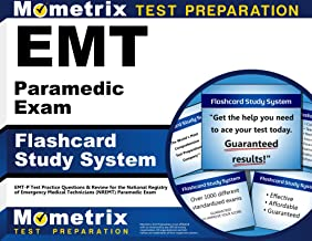 EMT Paramedic Exam Flashcard Study System: EMT-P Test Practice Questions & Review for the National Registry of Emergency Medical Technicians (NREMT) Paramedic Exam (Cards)