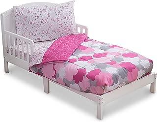 hot pink toddler bedding