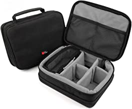 DURAGADGET Grey EVA Case Suitable for use with Panasonic HC-V727EG-S HC-V727EG-T HC-V750 HC-V757EG-K HC-VX870 HC-W570EB-K HC-W850 HC-WX970 HC-X929EG-K HC-X929EG-S HX-WA3EB