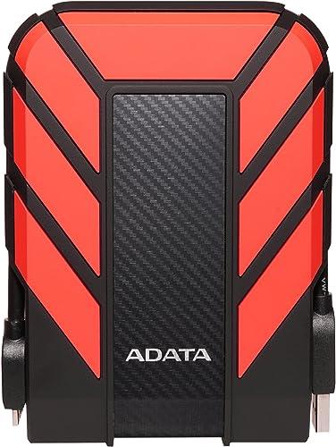 A-DATA HD710 Pro 1 TB USB 3.0 Portable External Hard Drive - Red